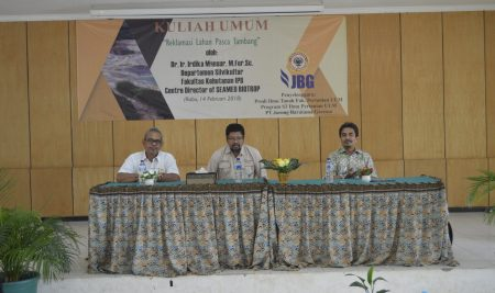"""Public Lecture """"Post-mining Land Reclamation"""""""