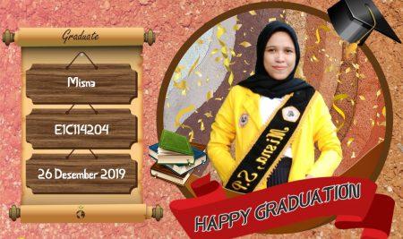 Graduation Appreciation for Misna